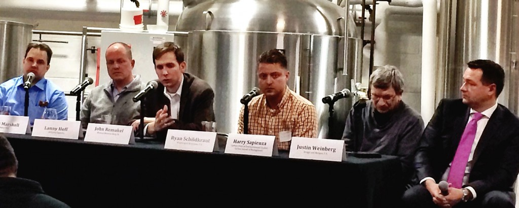 John R at MN Craft Brewers panel