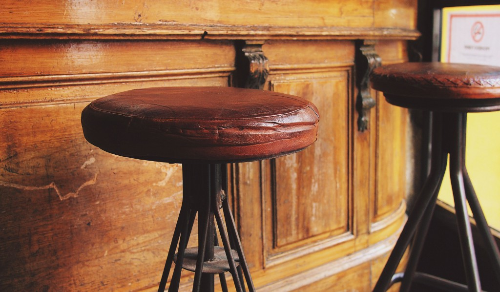 Stools at Bar